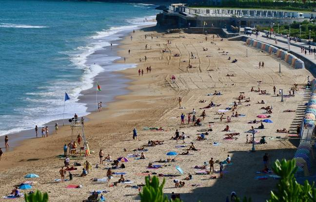 La Grande plage de Biarritz sera interdite d'accès à partir de ce vendredi, jusqu'à la fin du G7 lundi 26 août.