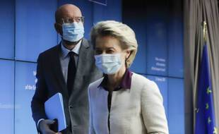 Charles Michel, président du Conseil européen, et Ursula von der Leyen, présidente de la Commission européenne.