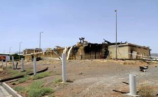 Une explosion a endommagé début juillet le complexe nucléaire de Natanz, dans le centre de l'Iran.
