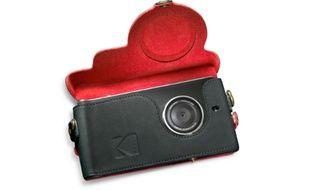 Le smartphone Kodak Ektra joue sur la fibre nostalgique de la marque.