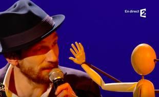 Igit, lors de la finale de Destination Eurovision 2018.
