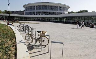 Lilliad, la nouvelle bibliothèque de Lille 1.