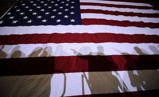 Un drapeau américain le 8 janvier 2012 à Exeter dans le New Hampshire