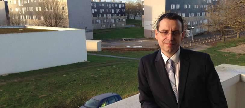 Philippe Rio, maire PCF de Grigny en 2015.