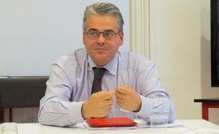 Jean-David Ciot, premier secrétaire du PS dans les Bouches-du-Rhône.