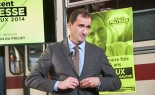 Vincent Feltesse, lors de la présentation de son projet le 20 janvier.