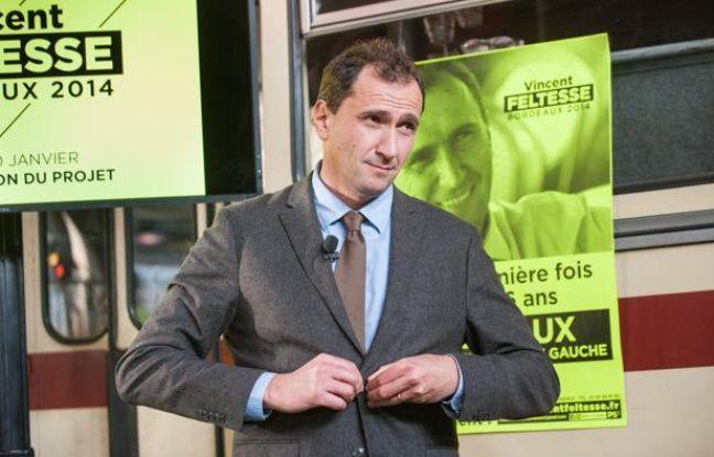 Bordeaux: L'ex-candidat à la mairie Vincent Feltesse quitte le PS