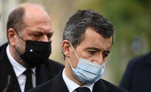 Les ministres de la Justice et de l'Intérieur, Eric Dupond-Morreti et Gérald Darmanin.