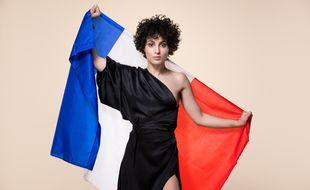 La chanteuse Barbara Pravi, représentante de la France à l'Eurovision 2021.
