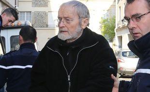 Maurice Agnelet arrive au Tribunal, le 10 avril 2014.