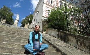 a Nantes le 13 aout 2014 - Lucie Lavergne a realise un audioguide gratuit pour visiter le quartier Chantenay