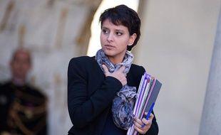 Najat Vallaud-Belkacem, le 13 novembre 2013.