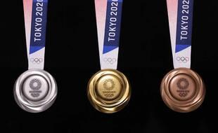 Les médailles tant convoitées des JO.