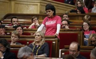 La dirigeante indépendantiste catalan, Anna Gabriel, a décidé de  s'installer en Suisse.