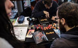 Au Comic Con ou à Quai des Bulles, les lecteurs et lectrices de BD peuvent rencontrer les auteurs.