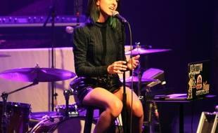 La chanteuse américaine Christina Grimmie à Atlanta, le 2 mars 2016.