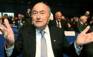 Sepp Blatter à Vienne le 24 mars 2015.