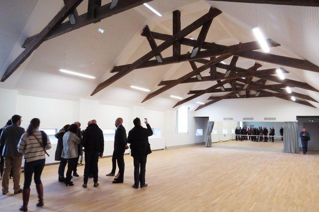 Une salle de danse du pôle associatif.