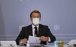 Emmanuel Macron réunit vendredi les grands financeurs pour le climat (Archives)