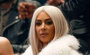 Kim Kardashian à New York le 11 février 2016