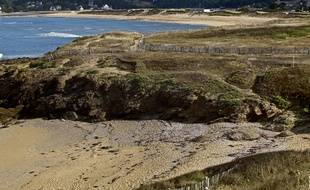 Un plage du Finistère (illustration).