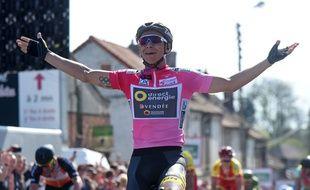 Brynan Coquard a remporté trois des cinq étapes de la course nordiste  / AFP PHOTO / FRANCOIS LO PRESTI