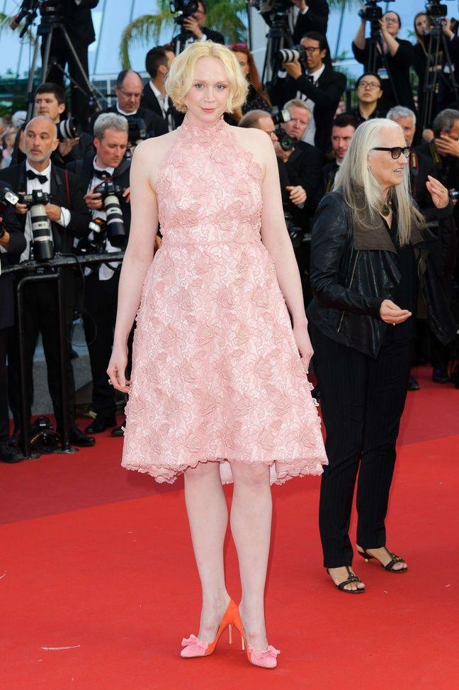 Gwendoline Christie à Cannes le 25 mai 2017.
