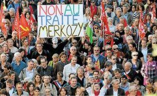 Les manifestants sont partis dimanche de la place de la Nation à Paris.