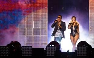 Jay-Z et Beyonce sur scène