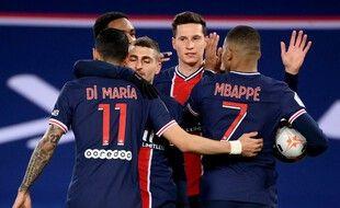Julian Draxler a inscrit le premier but de la rencontre contre Nantes, le 14 mars 2021.
