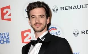 L'imitateur breton Marc-Antoine Le Bret, ici lors de la délocalisation d'« On n'est pas couché » à Cannes, en mai 2016.