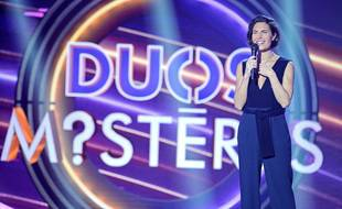 Alessandra Sublet est l'animatrice de Duos Mystères.