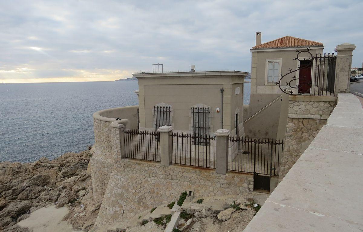 Marseille, le 3 décembre 2015, le marégraphe de Marseille sur la corniche – MickaÎl Penverne / 20 Minutes