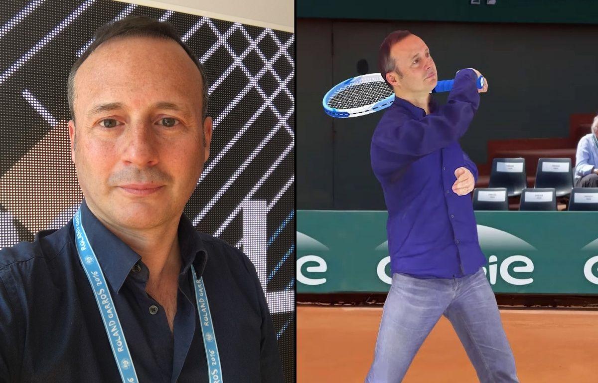 Edouard Deslandes et son avatar – Silkke/ DR