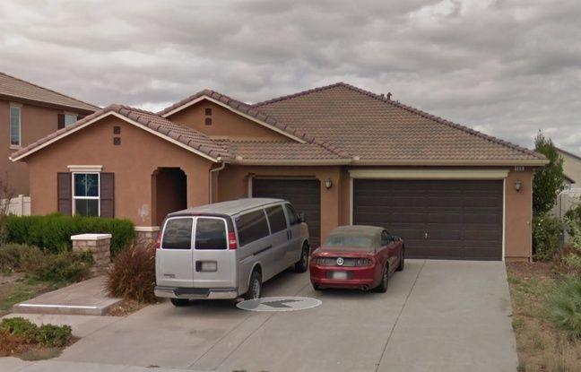 La maison de David et Anna Turpin, à Perris, en Californie.