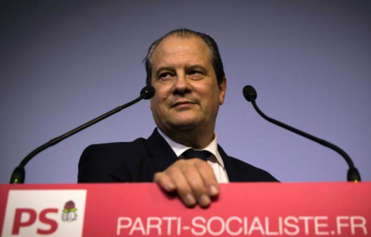 Le premier secrétaire du Parti socialiste (PS) Jean-Christophe Cambadélis au siège du PS, rue de Solférino, à Paris, le 24 février 2015 – JOEL SAGET AFP
