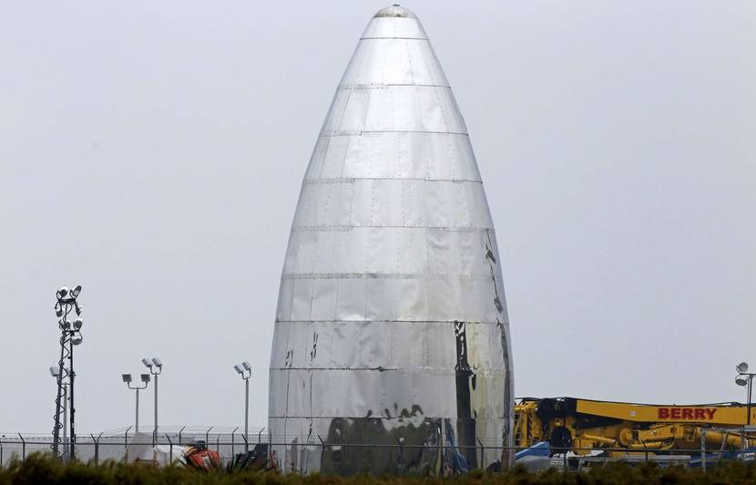 SpaceX: Bientôt les premiers tests pour StarHopper, version réduite de la future fusée Starship