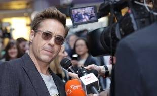 Robert Downey Jr, le 21 avril 2015, à Londres.