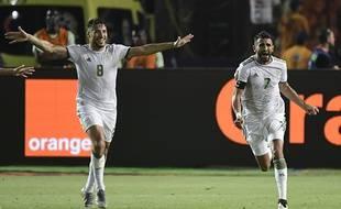 Mahrez a délivré l'Algérie face au Nigéria