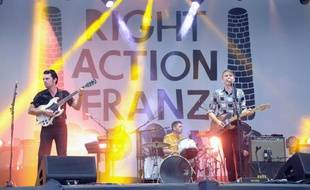 Franz Ferdinand vendredi 23 août 2013 à Rock en Seine.