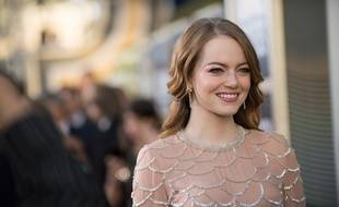 L'actrice Emma Stone