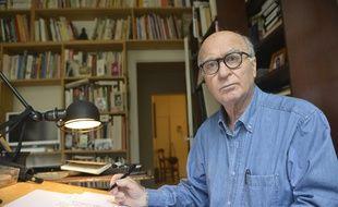 Georges Wolinski, 80 ans, est décédé dans l'attentat contre Charlie Hebdo le 7 janvier 2015.