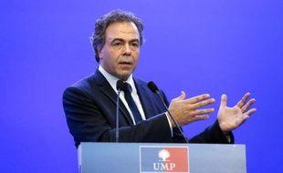 Luc Chatel, secrétaire général intérimaire de l'UMP, le 14 juillet 2014 à Paris
