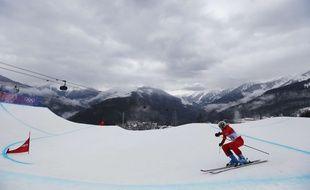 Les épreuves de ski cross lors des Jeux olympiques de Sotchi en 2014.