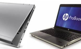 Des portables EliteBook et ProBook de HP.