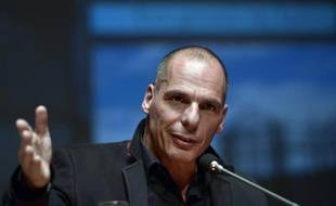 Le ministre des Finances grec Yanis Varoufakis, le 16 janvier 2015 à Athènes