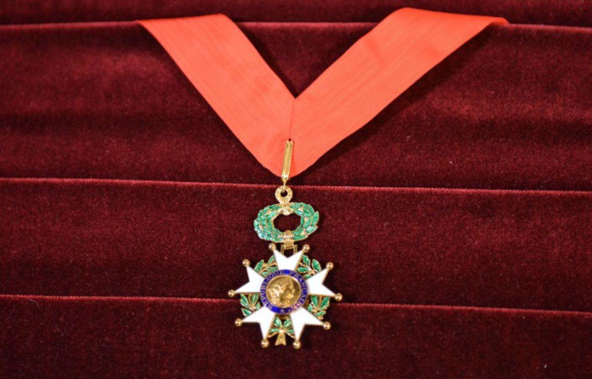 Légion d'honneur, illustration – ADALBERTO ROQUE / AFP