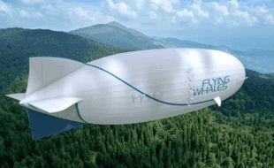 Le projet de dirigeable cargo Flying Whales
