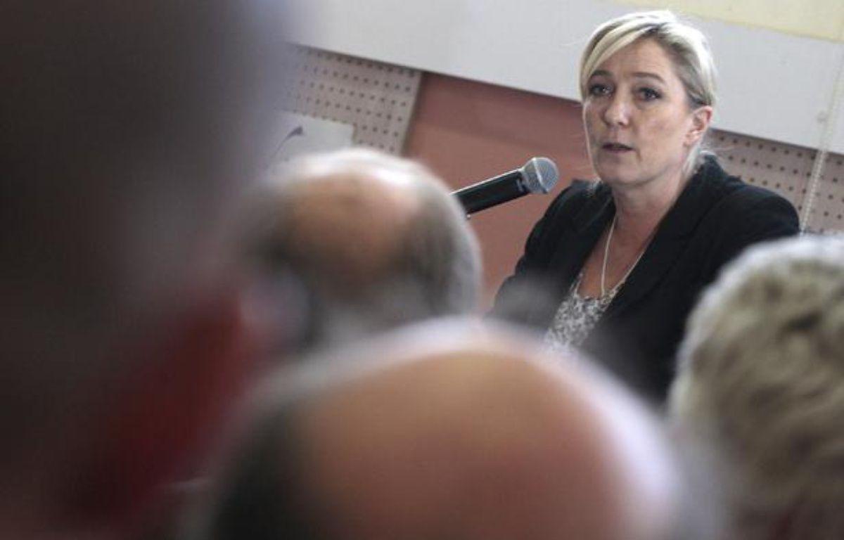 Marine Le Pen le 23 mai 2013 à Hénin-Beaumont. – CHIBANE BAZIZ/SIPA