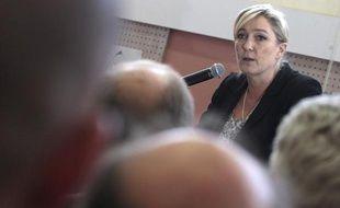 Marine Le Pen le 23 mai 2013 à Hénin-Beaumont.